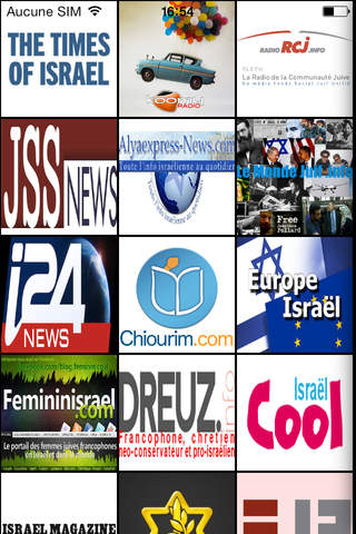 Israel Infos & Actu - náhled