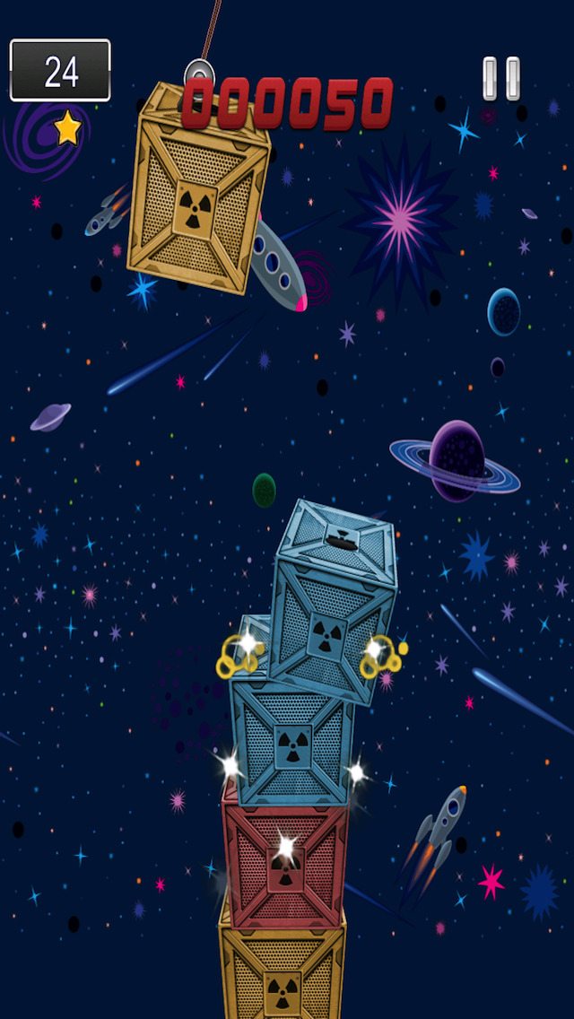 A1 Space Frontier Crane Stacker Game Pro Full Version screenshot 5
