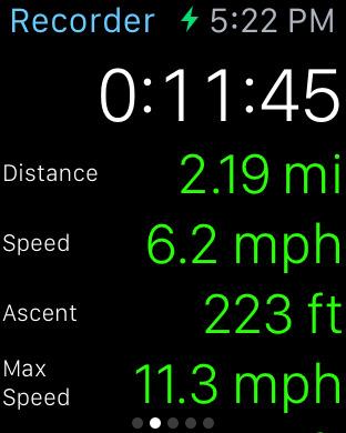 MotionX GPS screenshot 9