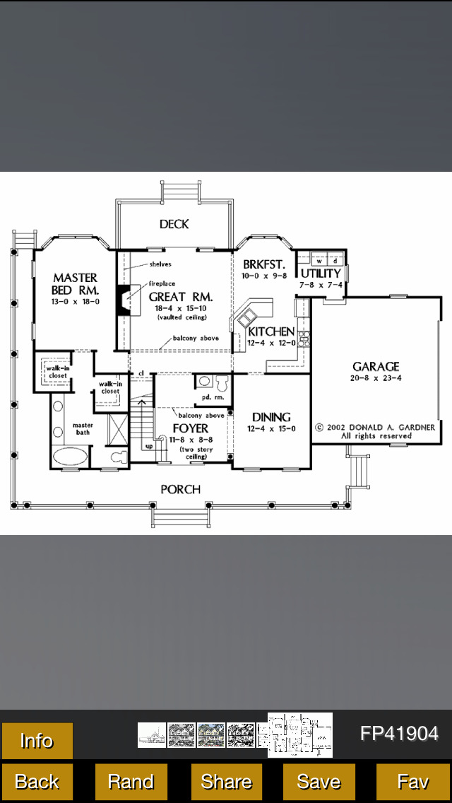 Farmhouse Plans screenshot 1