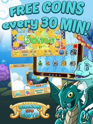 `Dragon Evo Slots PRO - Medieval Casino screenshot 6
