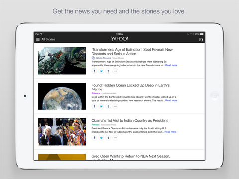 Yahoo News: Live Breaking News screenshot 6