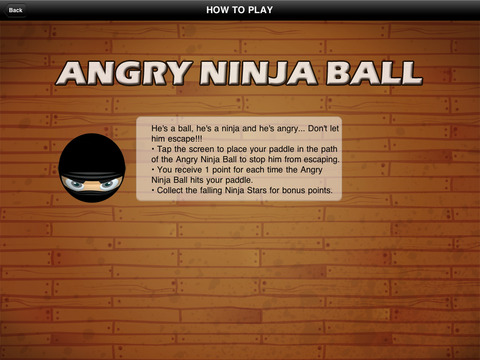 Angry Ninja Ball Escape Plus screenshot 5