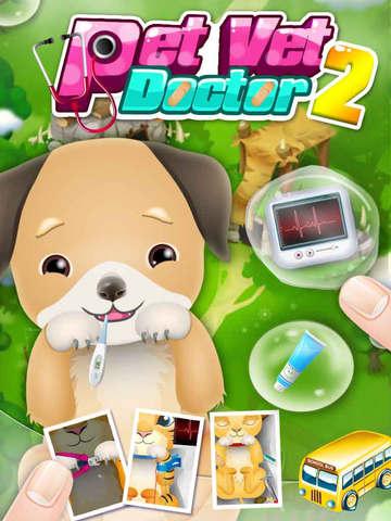 Baby Pet Vet Doctor - kids games screenshot 4