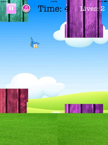 Fly Birdie - One touch branch jump screenshot 9