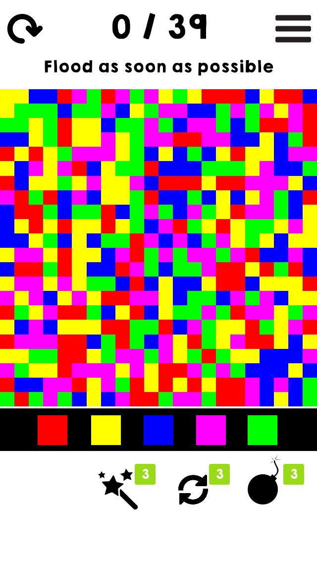 Simply Color Flood screenshot 1
