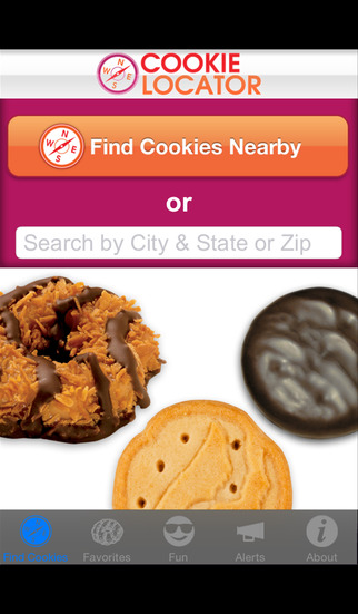 Girl Scout Cookie Locator screenshot 1
