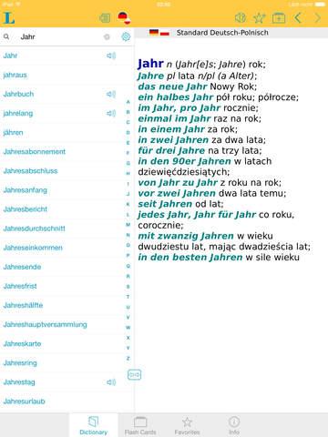 German Polish Dictionary screenshot 9