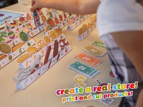 Storest - Kids Love Playing Store... Paper store! screenshot 1