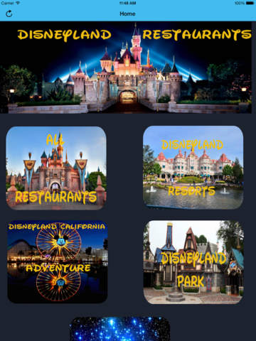 Restaurant Guide for Disneyland screenshot 6