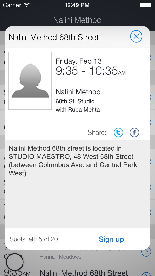 Nalini Method screenshot 2
