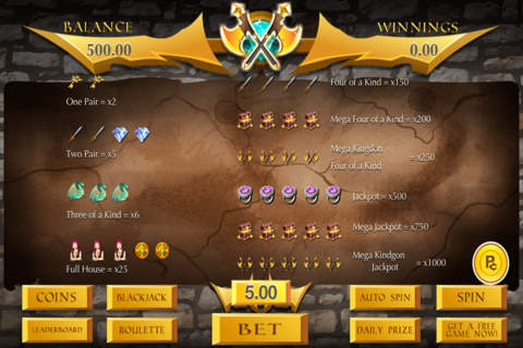 Slots of Rich Thrones (Vegas Jackpot 777 Casino) - - náhled