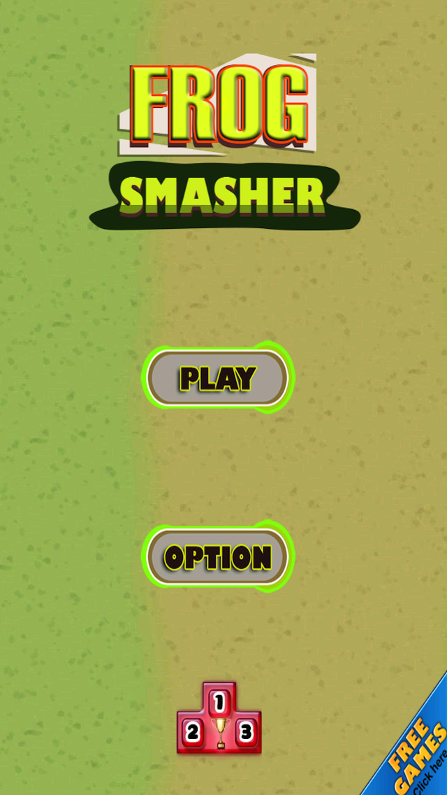 Free Frog Game Frog Smasher screenshot 5