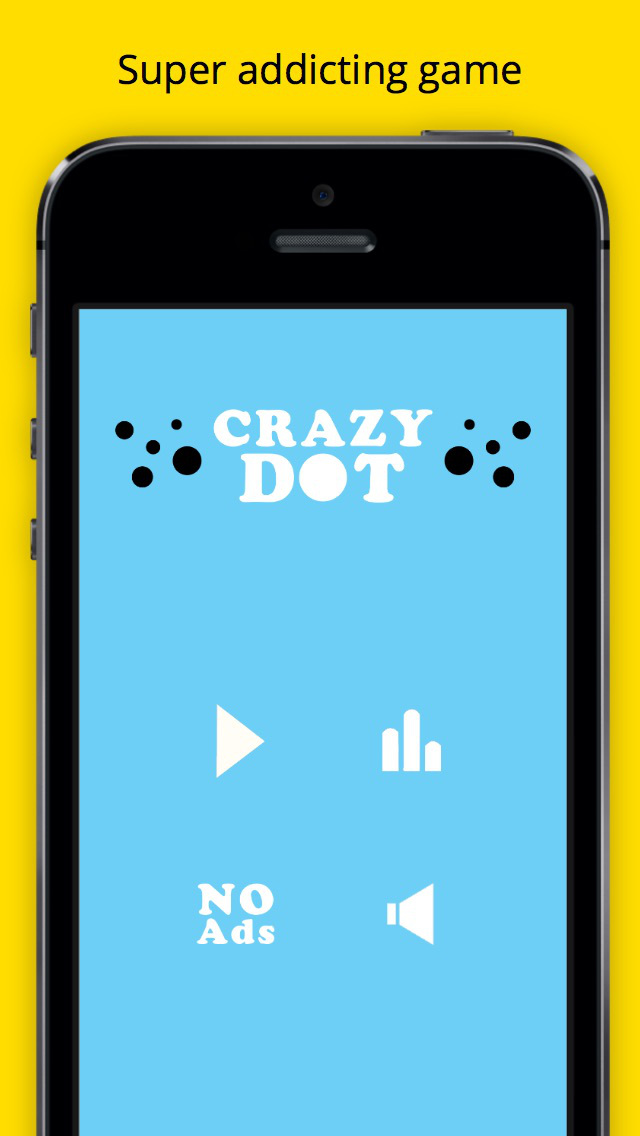 Crazy Dot - Catch the Spinning Dot Circle screenshot 1