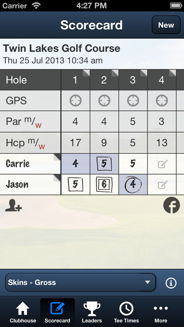 Twin Lakes Golf Course screenshot 3