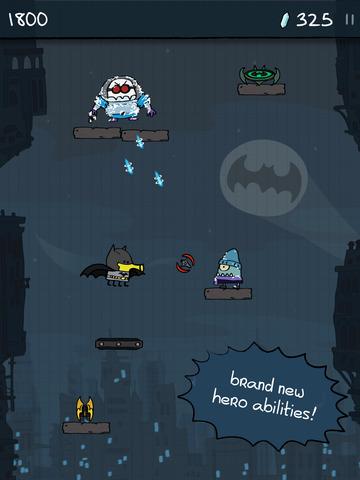 Doodle Jump DC Super Heroes screenshot 7
