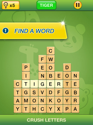 Crush Letters - Word Search screenshot 5