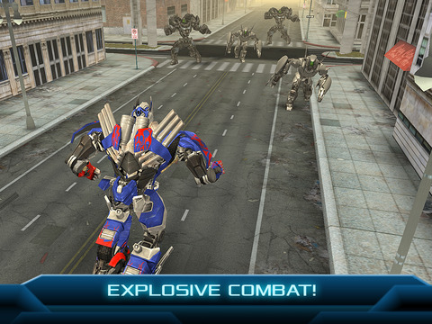 TRANSFORMERS: AGE OF EXTINCTION - The Official Game screenshot 7