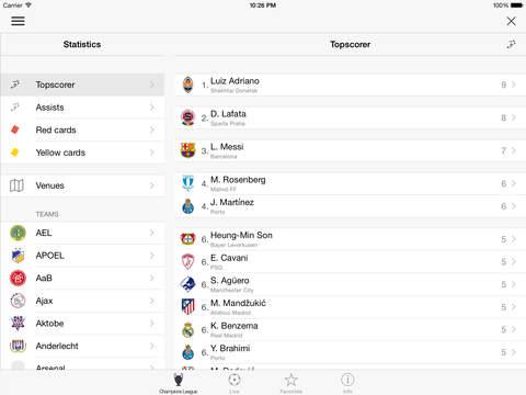 Football - Champions League Premium screenshot #3
