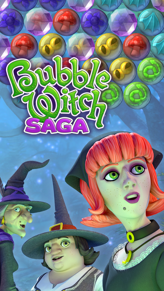 Bubble Witch Saga screenshot 5