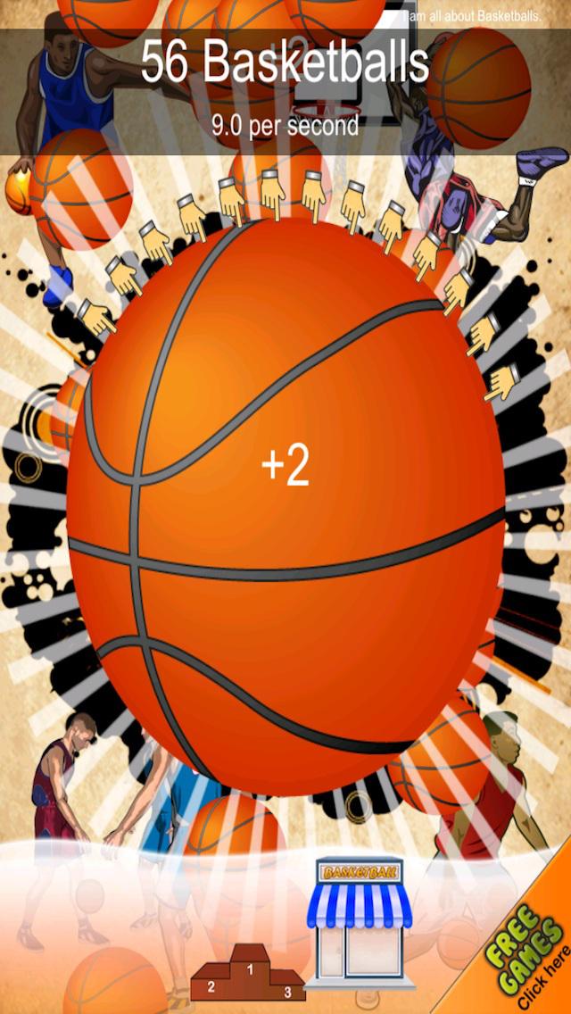 A Basketball Dribble Clicking Fun-fun Click Tap Clicker Games Free screenshot 4