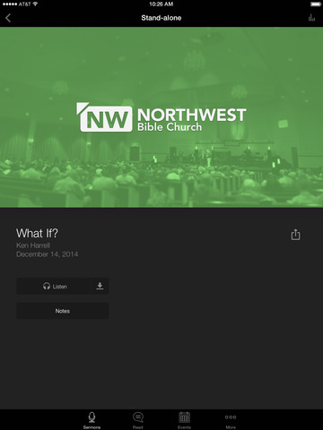 Northwest Bible Church screenshot 6