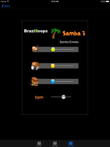 Brazilloops Samba screenshot 5