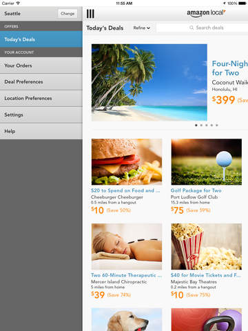 Amazon Local – Hotels and beauty offers near you screenshot 7