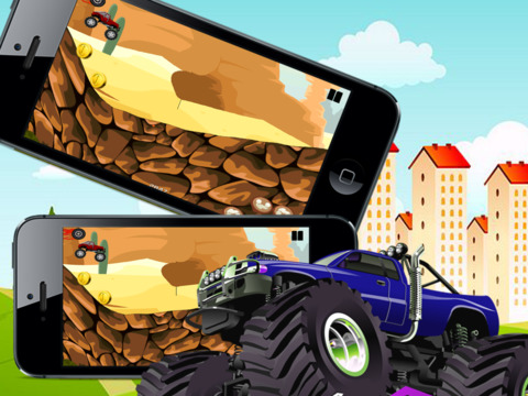 Angry Monster Truck Showdown screenshot 10