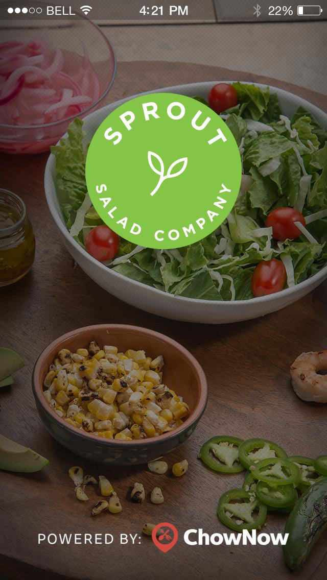 Sprout Salad Company screenshot 1