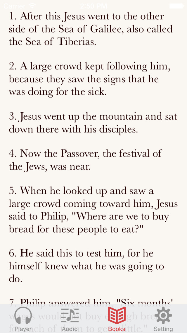 NRSV Bible (Audio & Book) screenshot 3