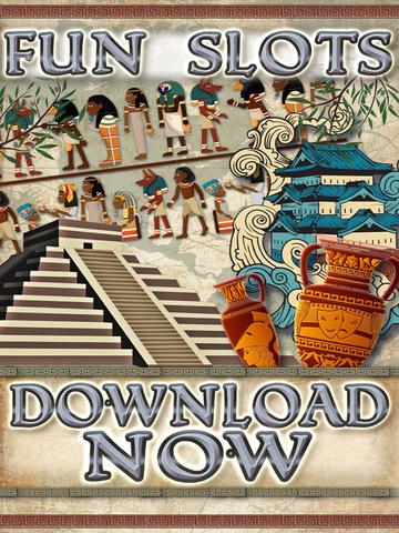 A Slots of Egypt vs Rome (Lucky Pharaohs Free Blackjack & Roulette Casino) - Fun Slot Machine Games screenshot 10