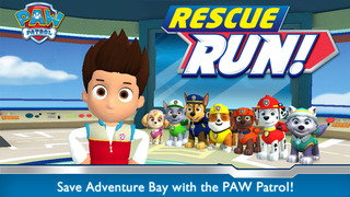 PAW Patrol Rescue Run screenshot 1