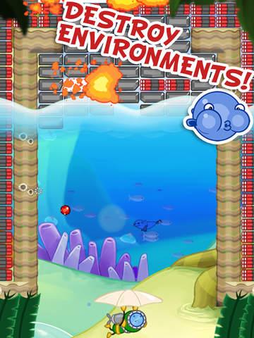 Blowfish Meets Meteor: A Brick-Breaker Adventure screenshot 8