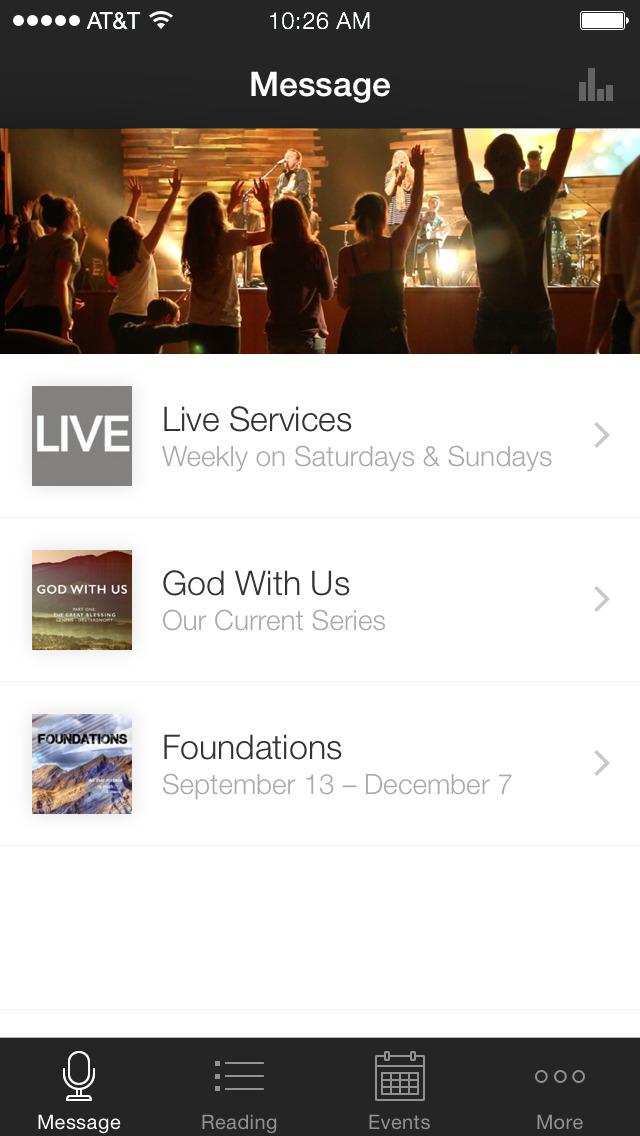 Oak Pointe Church App screenshot 1