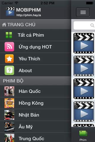 MobiPhim: Xem Clip Phim HD Chieu Rap - náhled