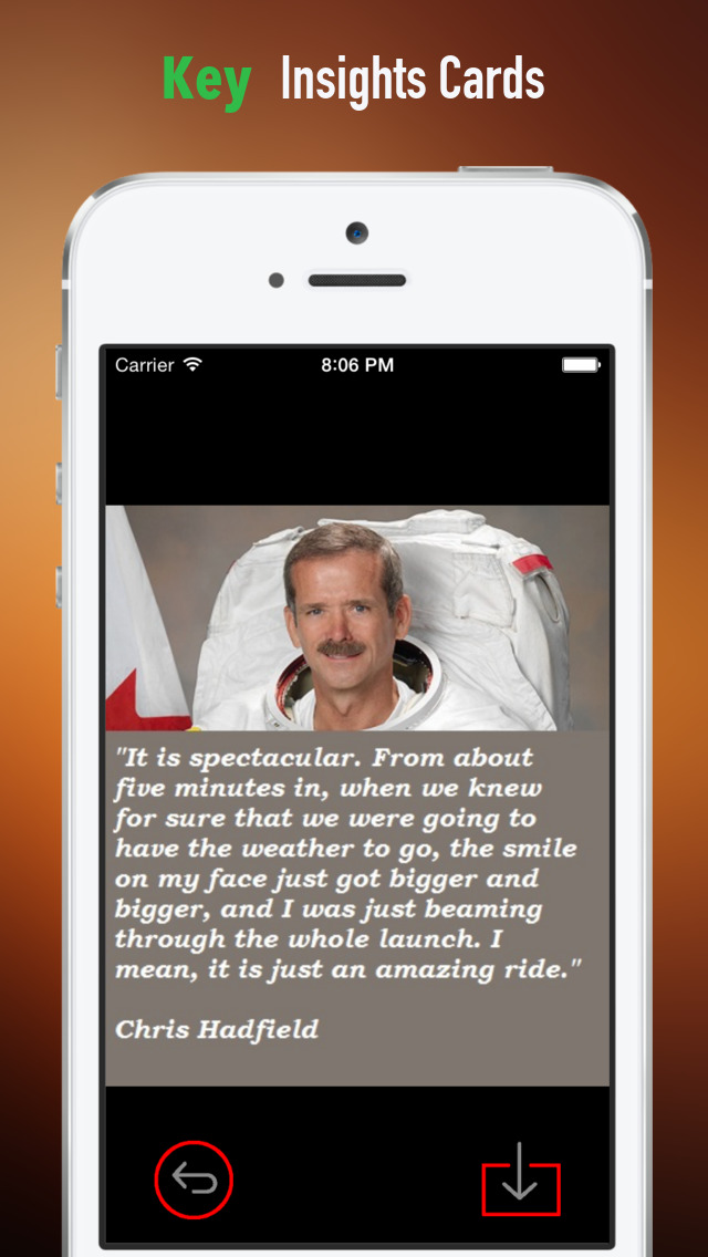 Practical Guide for An Astronaut's Guide to Life on Earth: Cards with Key Insights and Daily Inspiration screenshot 4