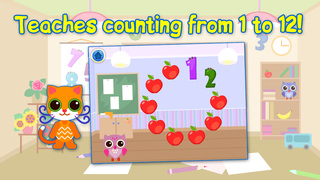 Educational Games For Children: Learning Numbers & Time. Free. screenshot 2