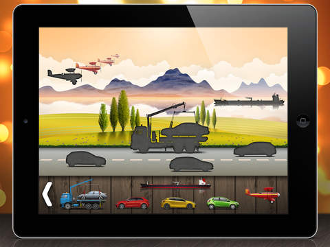 On the road - puzzle for toddlers and kids screenshot 2