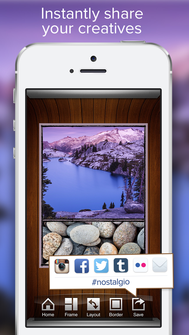 Nostalgio - Create, Edit and Share Cool Pictures with Photo Editor & Collage Maker screenshot 5