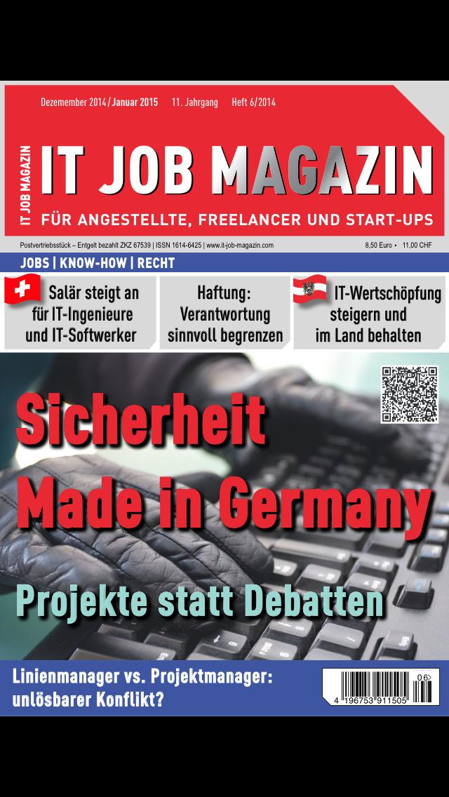 IT Job Magazin screenshot 1