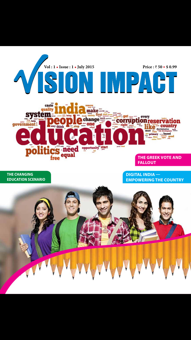 Vision Impact Magazine screenshot 1