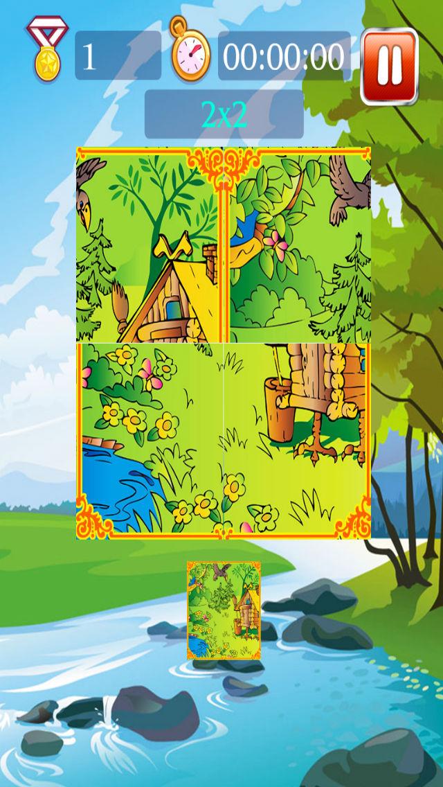 nature puzzle - free screenshot 2