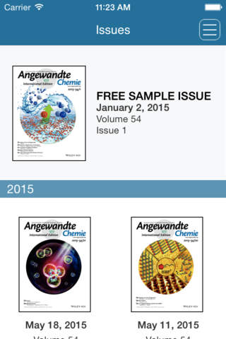 Angewandte Chemie International Edition - náhled