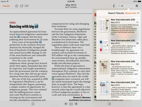 New Internationalist & Archive screenshot 10