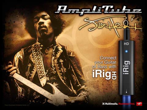 AmpliTube Hendrix™ for iPad screenshot 2