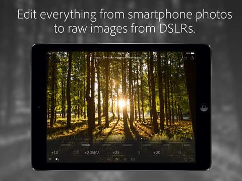 Adobe Lightroom for iPad screenshot 2