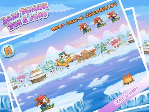 Baby Penguin Run Free - An Endless Action Kids Game screenshot 6