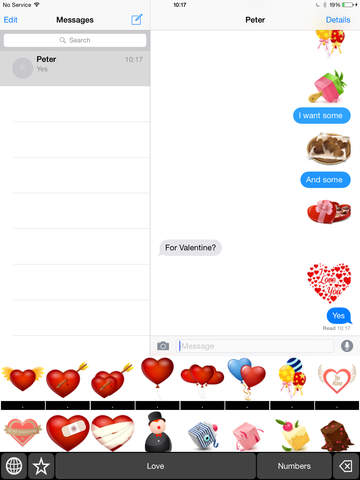 Love Keyboard Stickers: Chat with Love Icon on Your Message screenshot 6