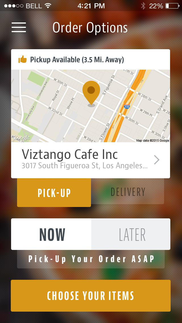 Viztango Cafe screenshot 2